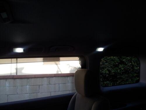 Two 31mm 6SMD Super White LED DE3021 DE3022 6428 Wedge Interior Dome Light Bulbs