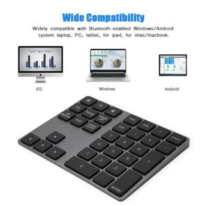 Bluetooth-Number-Pad-Numpad-Numeric-Keypad-34-Key-Keyboard-For-Laptop-Desktop-GM