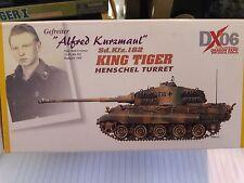 Dragon Armor 1/72 DX06 KING TIGER Alfred Kurzmaul item no 60223