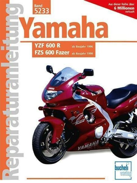 yamaha yzf 600 r fzs 600 fazer 2015 taschenbuch ebay. Black Bedroom Furniture Sets. Home Design Ideas