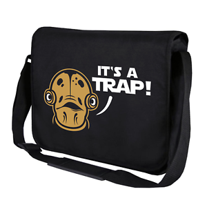 IT /'s a Trap its ammiraglio Ackbar Star satira Wars Geek Borsa Tracolla Messenger Bag