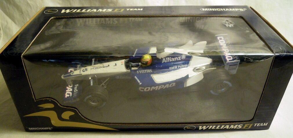 MINICHAMPS 100020005  Williams Bmw fw24,  5 R. Schumacher 2002, 1 18, NOUVEAU & NEUF dans sa boîte