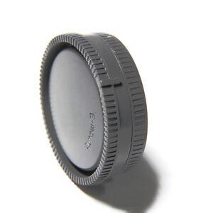 Camera-Body-Front-Rear-Lens-Cap-Cover-For-Sony-E-Mount-NEX-Lenses-amp-Camera-A7