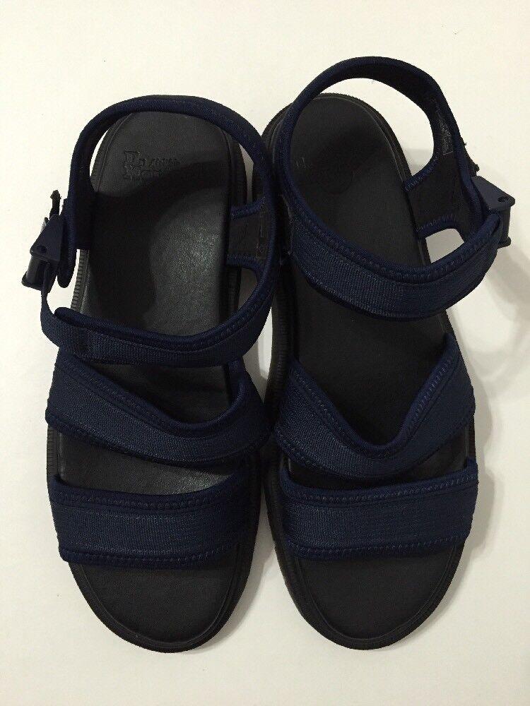 Dr Martens Uomo Size13 2-Strap Adjustable Sandals Neoprene Navy Effra Tec