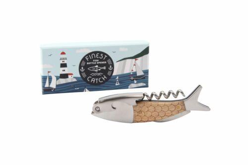 Coastal Mer Nautique Thème poisson en forme d/'ouvre-bouteille-Bar Accessoire