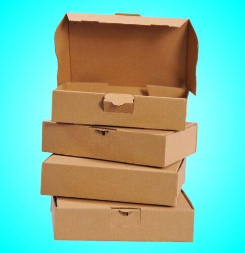 Maxibrief Kartons 180x130x45 Postkartons DIN A6 Versandkartons NEU 100 St