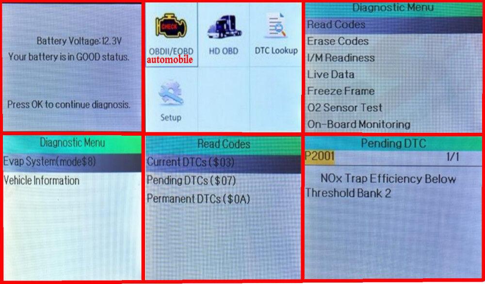 p2001 nox trap efficiency below threshold (bank 2)