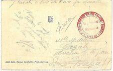 ITALIA Storia Postale - I Guerra / WW I - DISTACCO MILITARE FRANCESE a LIVORNO
