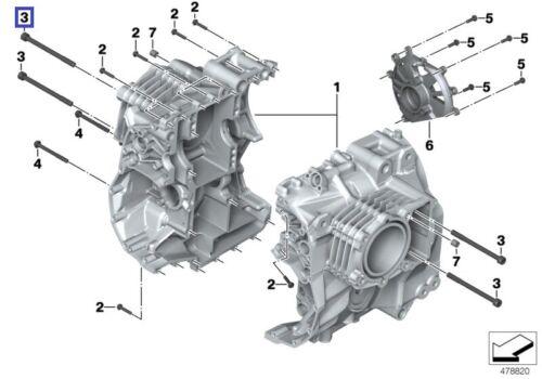 BMW Torx Vis Boulon M10 x 1.5 x 130 mm Grade 10.9 11117668387