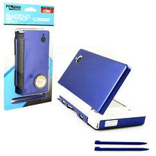 Nintendo DSi Aluminum Armor Case & Dual Stylus Set - Aqua Blue