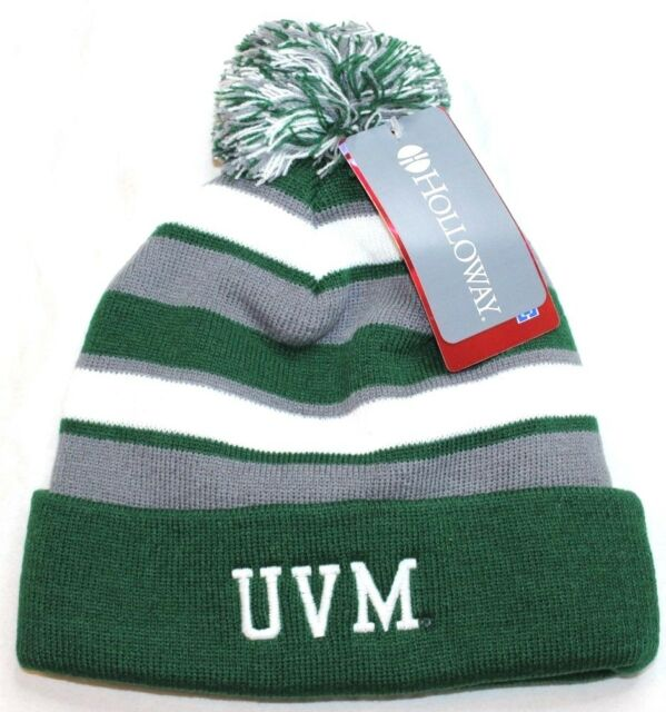 8d679ea1051 NCAA Vermont Catamounts Comeback Beanie Green White OS for sale ...