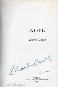 Charles-Castle-Autograph-Noel-Vintage-Hardback-Book-Signed-AFTAL