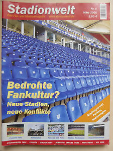 Magazin-Stadionwelt-Fan-amp-Stadionmagazin-Ausgabe-8-Maerz-2005-Fussball-Ultras