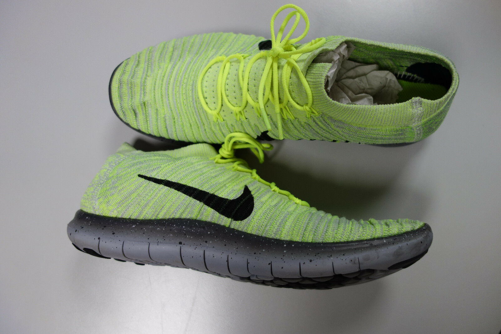 d97abf49a0c Nike Free RN Motion Flyknit Men s Trainers EU45 US11 Yellow Yellow Yellow  d78c2d