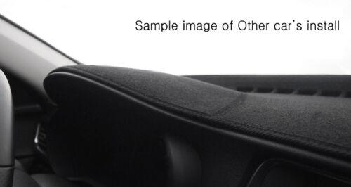 Black Dash Mats Cover for 02//2003-10//2006 Kia Sorento RH drive