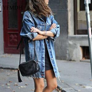 Boyfriend en jean Style Vintage Hole Vestes Femme Jacket Jean HACnxqdXZw