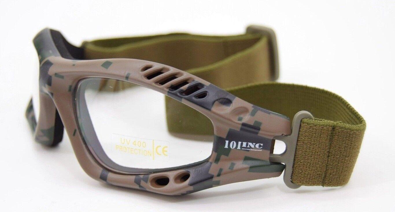 fce290d2d76e95 ... Militaire 101-INC 101-INC Militaire Tactical Lunettes de protection  oculaire Airsoft MARPAT US