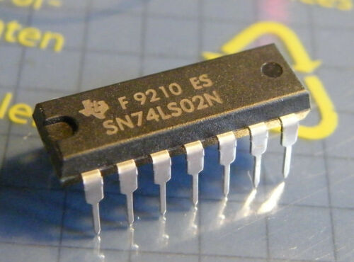 Texas Instruments 5x sn74ls02n quad 2-input nor-Gate
