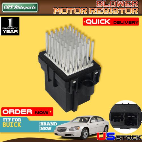 HVAC Blower Motor Module Resistor For Buick Cadillac GMC Hummer Saturn Outlook