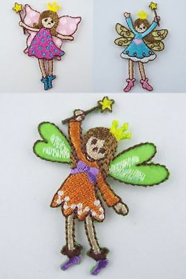 Kids Childrens Mixed Designs Sew On Motif Applique Trimits Iron On