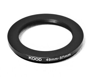 Stepping Ring 49-37mm 49mm to 37mm Step Down Ring Stepping Rings 49mm-37mm