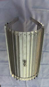 Wood Stove Wrap Heat Exchanger For 5 Or 6 In Pipe X 16 In