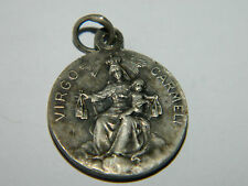 ancien medaille VIRGO CARMELI sacre coeur de JESUS old MEDAL notre dame VIERGE
