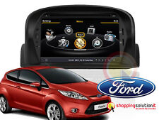 NAVIGATORE GPS AUTORADIO NUOVA FORD FIESTA DVD TOUCH USB BLUETOOTH MP3 LCD HD
