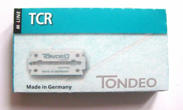 Tondeo 1 x 10 Blades Tcr for Razor Styling Shaper from the M-LINE