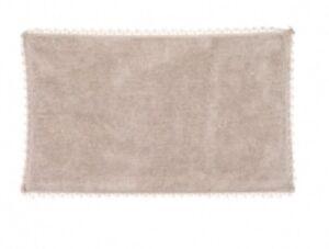 Badteppich-Badlaeufer-Dusch-Vorleger-Teppich-beige-50-x-80-Shabby