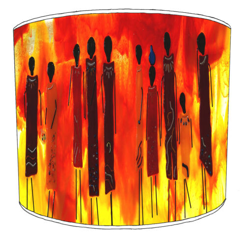 Ideal To Match African Ladies Wall Decals /& Stickers African Tribal Lampshades