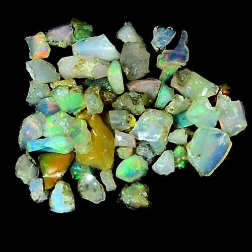 100/%Natural Ethiopian Opal Ruby Sapphire Tourmaline Lot Rough Specimen