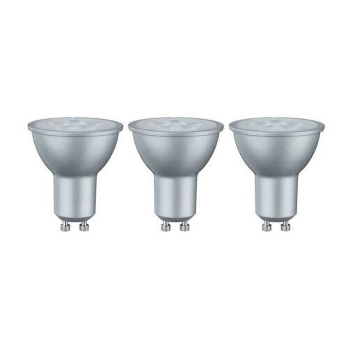 3er Set Paulmann 284.29 LED Reflektor Lampe GU10 Leuchtmittel 3,5W=25W Warmweiß