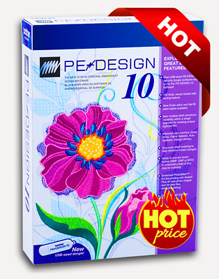 Brother Pe Design 10 Embroidery Full Software 2020 Free Gifts 1s Delivry Ebay