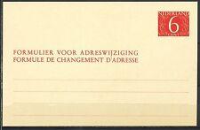 VERHUISKAART NR. 27. - 6 cent - ONGEBRUIKT        Ha304