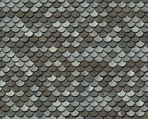 # 4 sheets MATT VINYL waterproof SELFADHESIVE DOLLHOUSE 1//12 SCALE ROOF  CODE Β7
