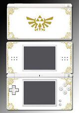 Legend of Zelda Link Hyrule Special Edition White Game Skin Nintendo DS Lite