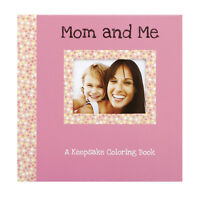 C.r. Gibson Keepsake Coloring Book Journal - Mom And Me