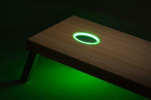 6 Color Options Tailgating Pros Premium 36 LED Cornhole Light Ring Set Multi