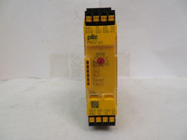 NEW PILZ 751104 SAFETY RELAY PNOZ S4 C 24VDC 3N//O 1N//C