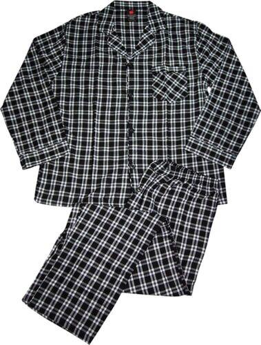 Hanes Mens Woven Pajamas LSLLBCWM//LSLLBCWMB