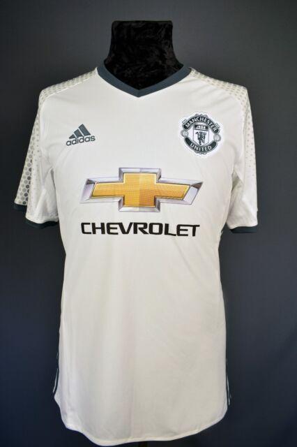 5+/5 medium Manchester United jersey shirt adidas 2016 third Soccer Football