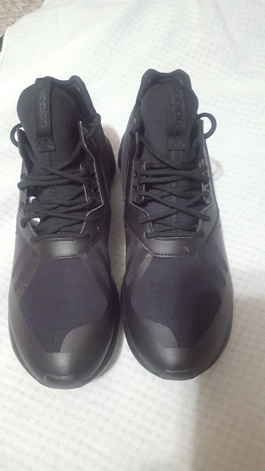 Adidas Original Tubular Runner Triple Black Q16465 Men's Shoes US Size 10 Black
