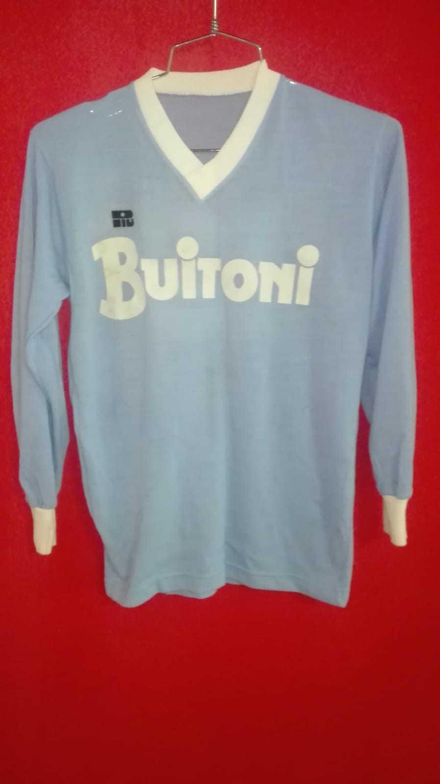 f27bb148f Maglietta Vintage in Lanetta NAPOLI n° 10 MARADONA Sponsoor BUITONI Anni  80