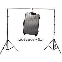 3m X 2.8m Photography Studio Background Backdrop Stand Photo Lighting Set
