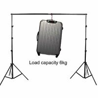 3m X 2.8m Photography Studio Background Backdrop Stand Photo Lighting Set on sale