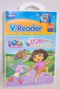 NEW-V-Reader-034-Dora-The-Exporer-034-Interactive-E-Reading-Cartridge-2880