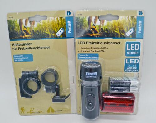 Freizeitleuchten Set Batterieleuchte LED Taschenlampe Sportlampe