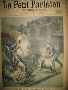 FONTENAY-CAMBRIOLEUR-TUe-VOSGES-CHASSEURS-ALPINS-ORAGE-LE-PETIT-PARISIEN-1901