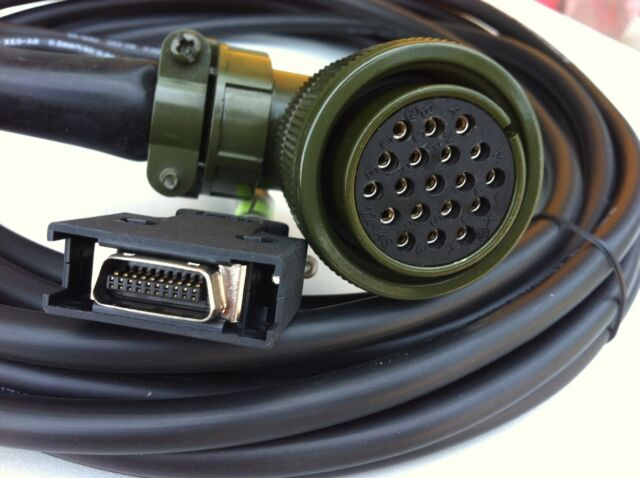 NEW For Mitsubishi CNV2E-9P-8M CNC Servo Motor Encoder Cable  #H3376 YD